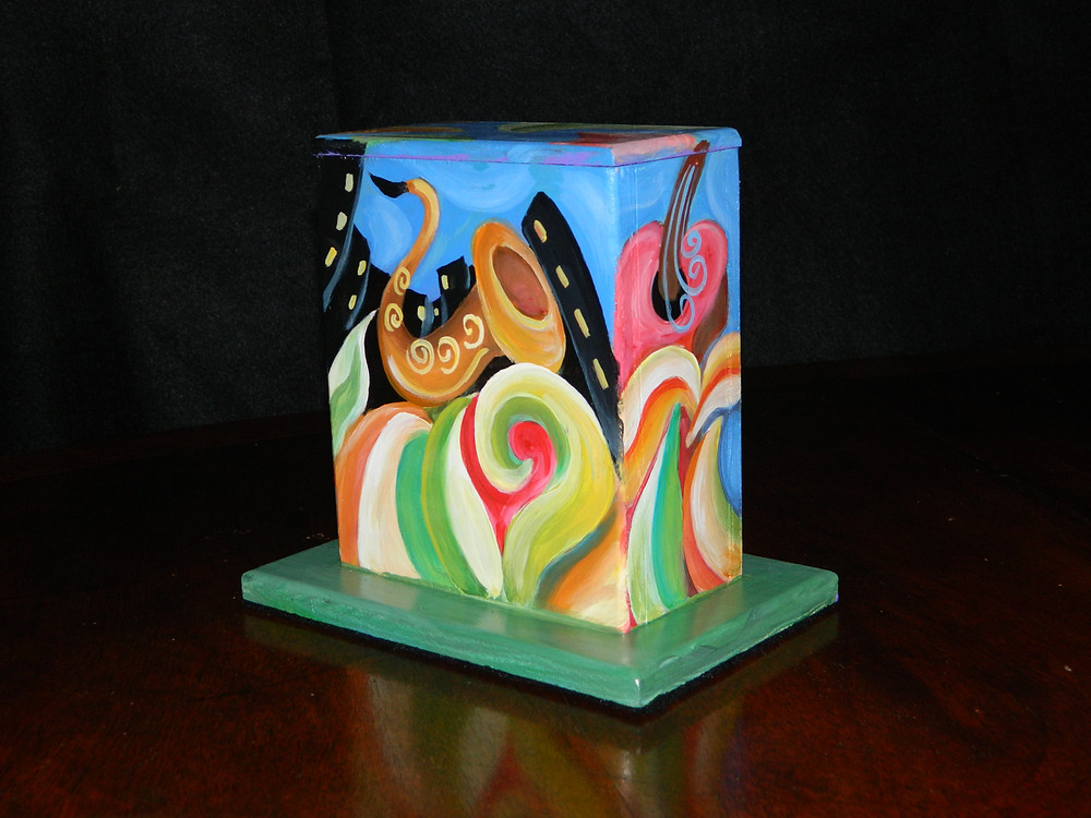 #11 Musical Mini Box @ Louisiana & Lasalle by Sharika Mahdi