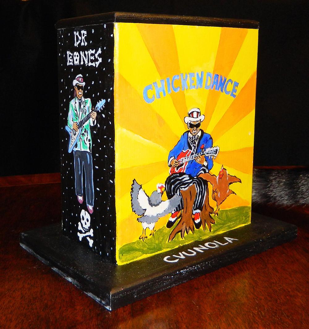 #17 Freddie King mini box @ Basin & St. Peter by Erin McNutt