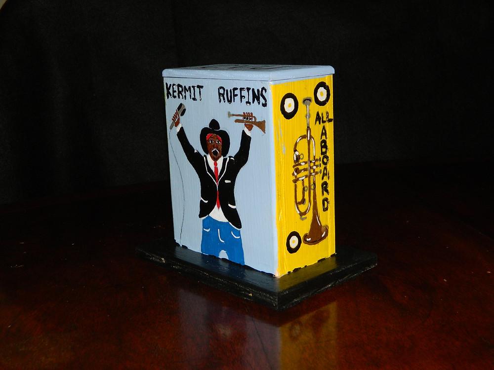 #16 Kermit Ruffins Mini Box @ Basin by Jesse Lee