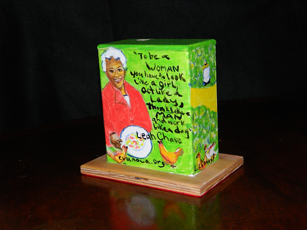 #9 Leah Chase Mini Box @ Galvez & Orleans by Linda LeBoeuf