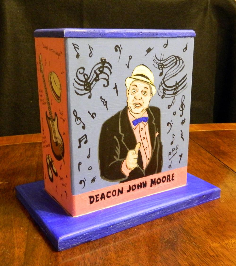 #1 Deacon John Mini Box @ Basin & St. Louis by Erin McNutt