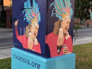 Celebrate CVU artist Robin Daning