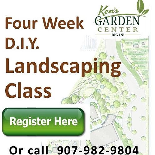 DIY Landscape Classes