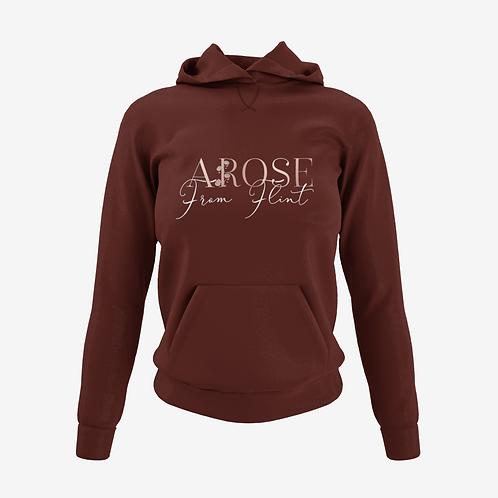 AROSE From Flint Hoodie - Maroon