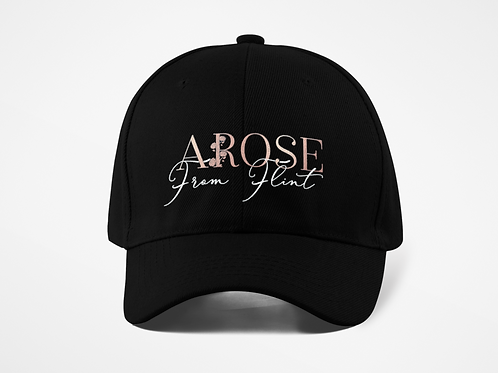AROSE From Flint Hat-Black