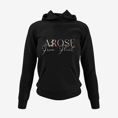 AROSE From Flint Hoodie - Black