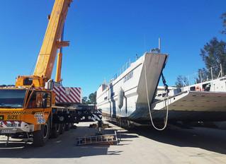 64 Tonne Barge - Port Macquarie