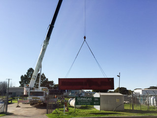 Kempsey - Shifting 40ft container