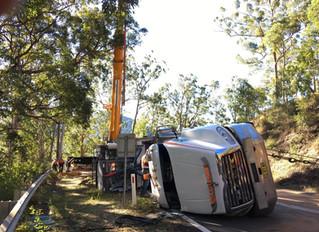 Walcha Mountain rescue - Crane Port Macquarie Mid Coast Cranes