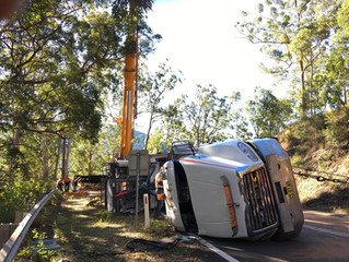 Walcha Mountain rescue - Crane Port Macquarie Mid Coast Cranes