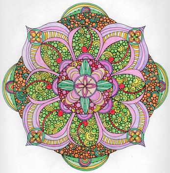 曼陀羅系列:萬花鏡