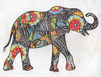 曼陀羅系列:大象