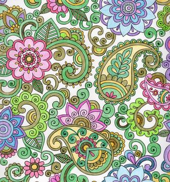 曼陀羅系列:變形花