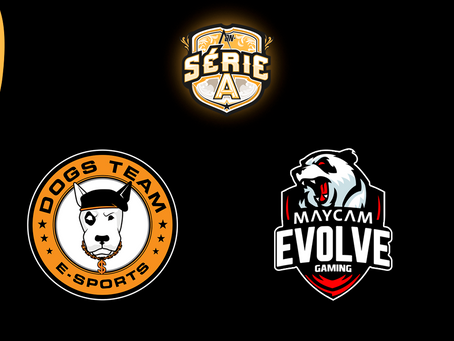 DOGS TEAM e Maycam Evolve são aprovados no processo seletivo para a Série A