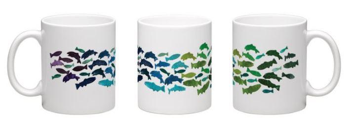 School of Fish Mug