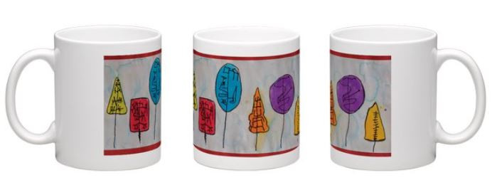 11oz mug wrap around preview - click arrow to see more