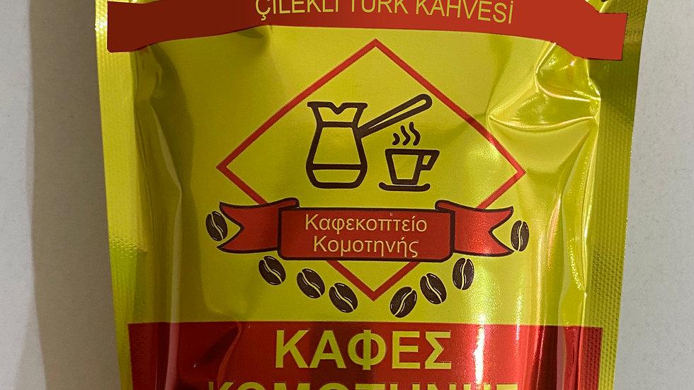 Çilekli  Gümülcine Türk Kahvesi 200gr.