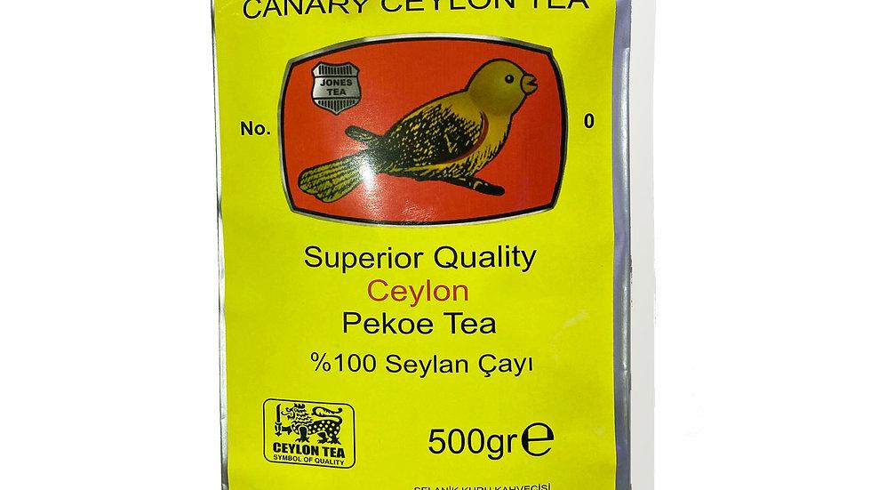 Canary Ceylon Tea Seylan Kuşlu çay 500gr