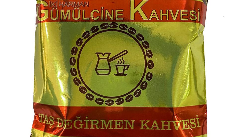 İki harman Gümülcine Kahvesi 100gr (Taş Değirmen)