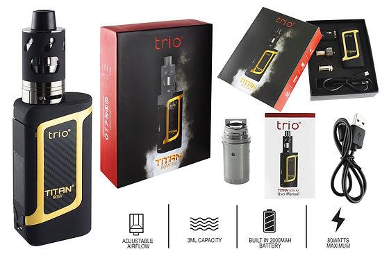 Trio Vapes Titan 80W Kit