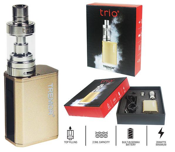 Trio Vapes Tremor 40W Kit