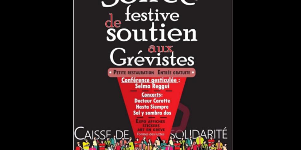 HASTA - Concert Festif - Soutien aux grévistes
