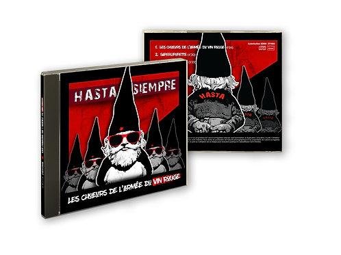 """CD (5 titres) """"Les Choeurs de l'armée du vin rouge"""" - 2016"""