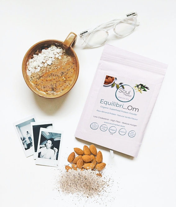 Equilibri...Om- Organic Almound Protein