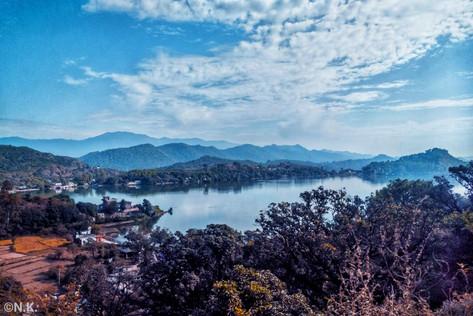Top view of MANSAR LAKE