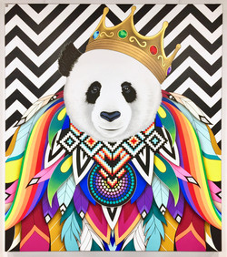 PANDA IS THE NEW KING
