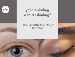 ¿Microblading o Microshading? que le conviene más a tu ceja.