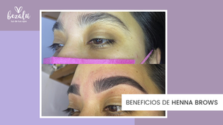 Beneficios de Henna Brows en Bezalú