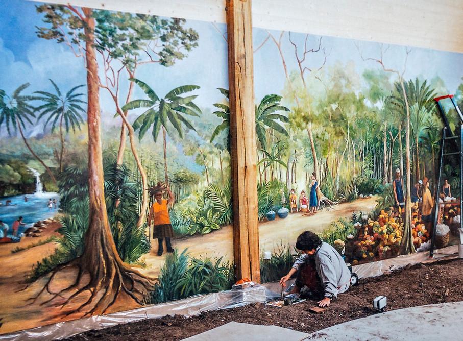 Paysage de Sao Tome