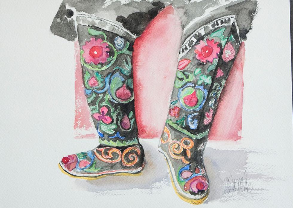 Les bottes de bébé