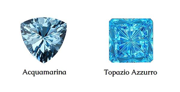 acquamarina e topazi azzurro,imitazioni acquamarina,acquamarina,differenza tra acquamarina e topazio