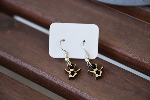 Rat paw dangle earrings