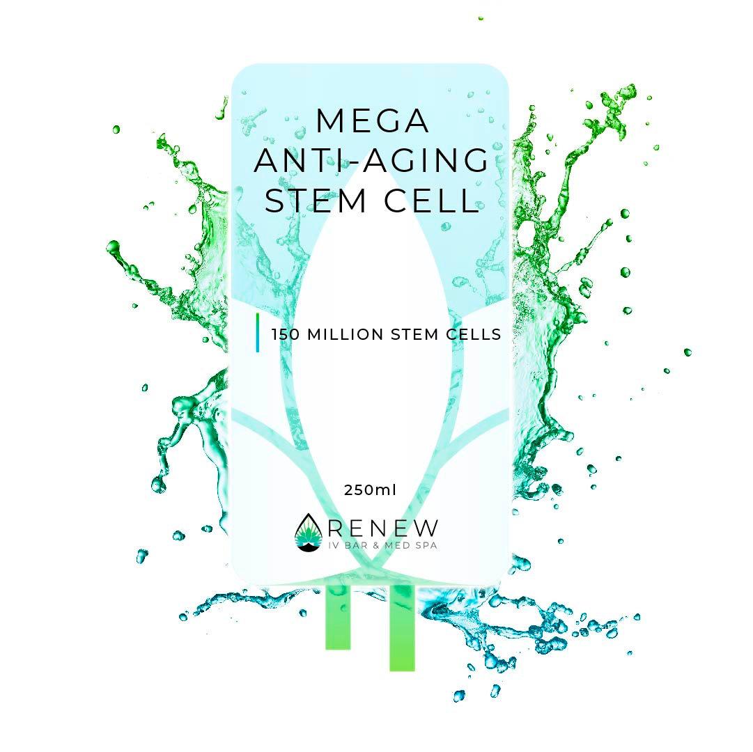 Anti-Aging Stem Cell IV (150 Million)