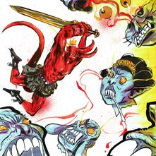 Hellboy kill Onis