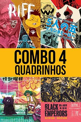 COMBO 4 QUADRINHOS