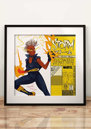 G Size Print Series - Storm