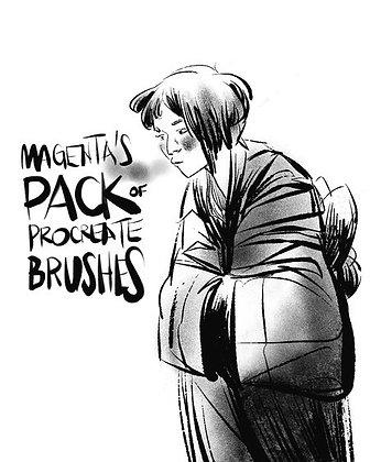 Magenta's Brush Pack
