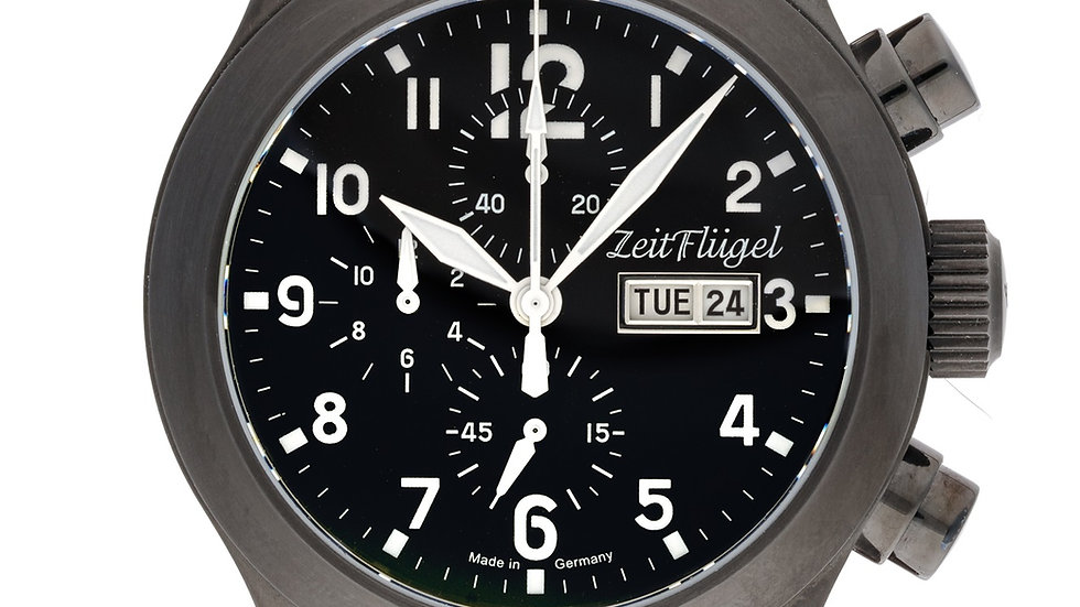 Flieger II Modell 12 Quarz Chrono