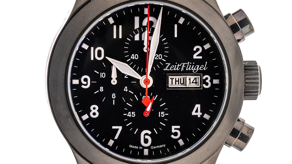 Flieger II Modell 10 Quarz Chrono