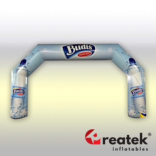 Inflatable arch : PVC D-Tex 0,45mm material