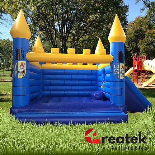 Inflatable commercial bouncy castles