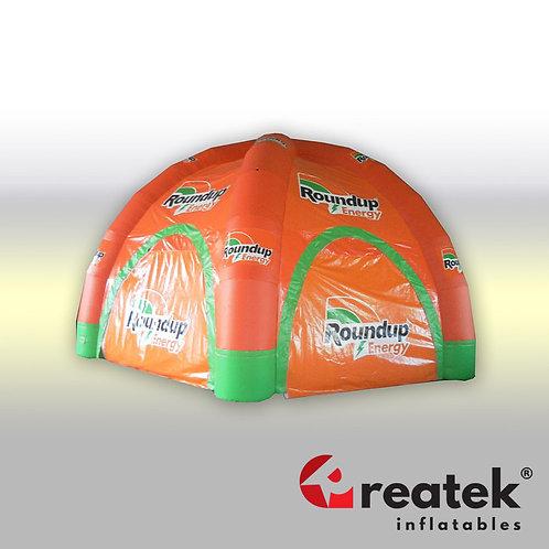 Inflatable tents : PVC D-Tex 0,45mm material