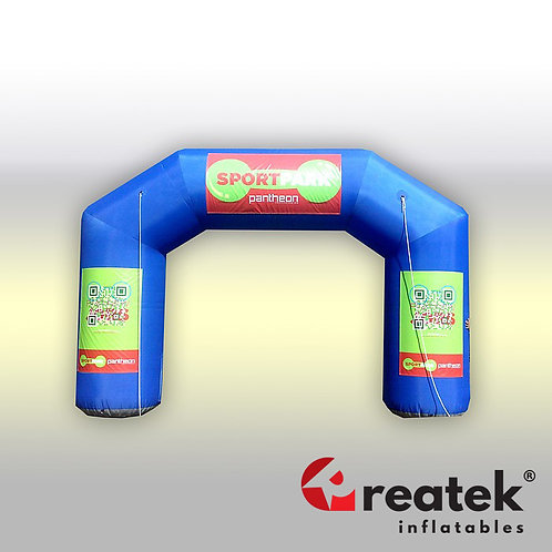 Inflatable arch : Polyester material