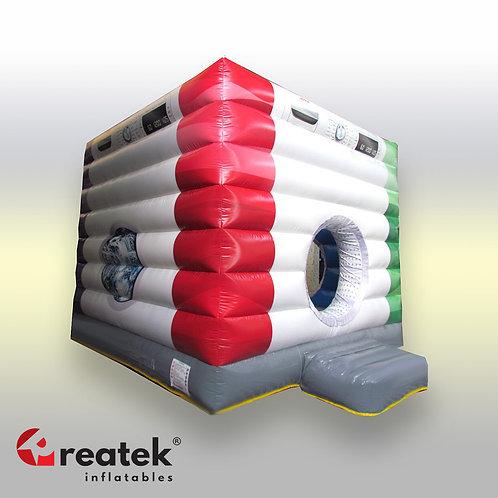Inflatable branded moonwalks