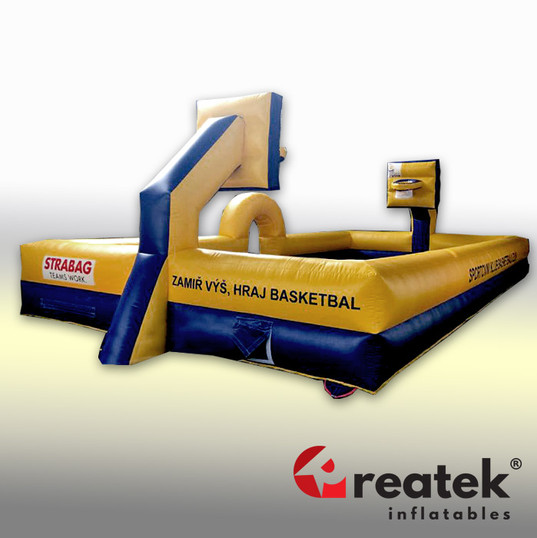 inflatable basketball reatek