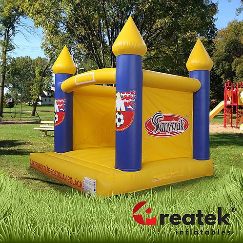 Inflatable branded bouncy houses